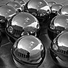 Iron balls... by Paulo Faria - Abstract Fine Art