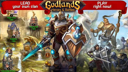 Godlands RPG - Fight for Throne : Legendary Story apkdebit screenshots 16