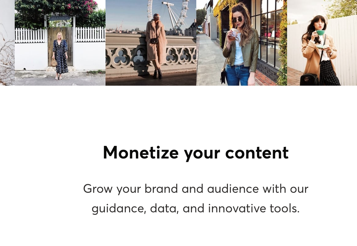 Monetize Your Content with ShopStyle Collective