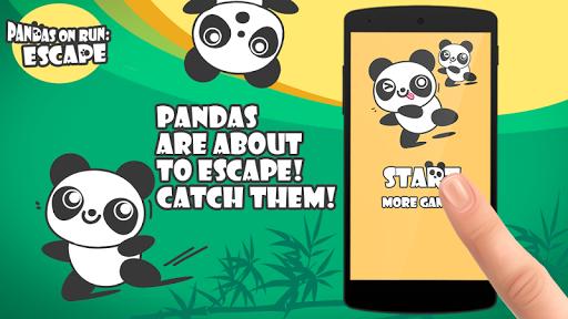 熊猫快跑:逃跑