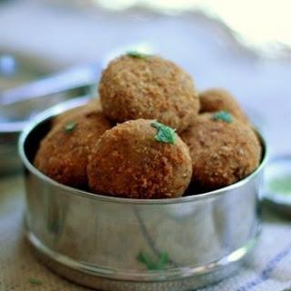 Dukkah-spiced Veggie Patties