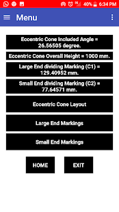 App Eccentric Cone Layout APK for Windows Phone