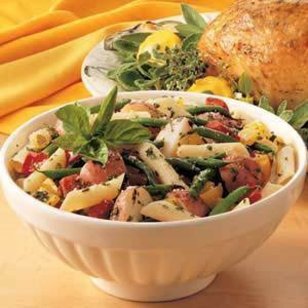 Potatoes With Beans N Pasta. Recipe