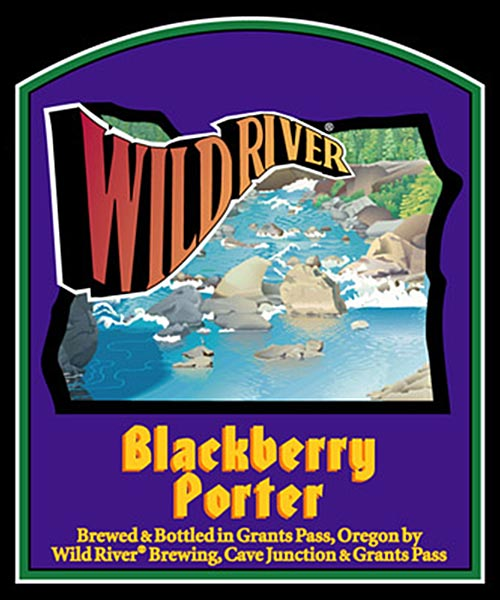 Logo of Wild River Blackberry Porter