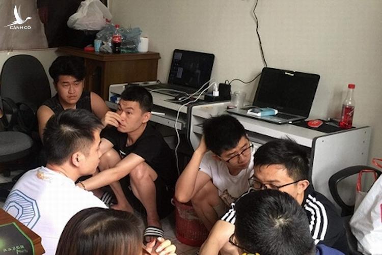 Các đối tượng người Trung Quốc (gồm 7 nam, 1 nữ) thuê trọ tại số nhà 147, đường Bắc Sơn, phường Hoàng Văn Thụ, thành phố Lạng Sơn để hoạt động lừa đảo qua mạng.