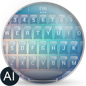 Theme for A.I.type Blur Glass for PC