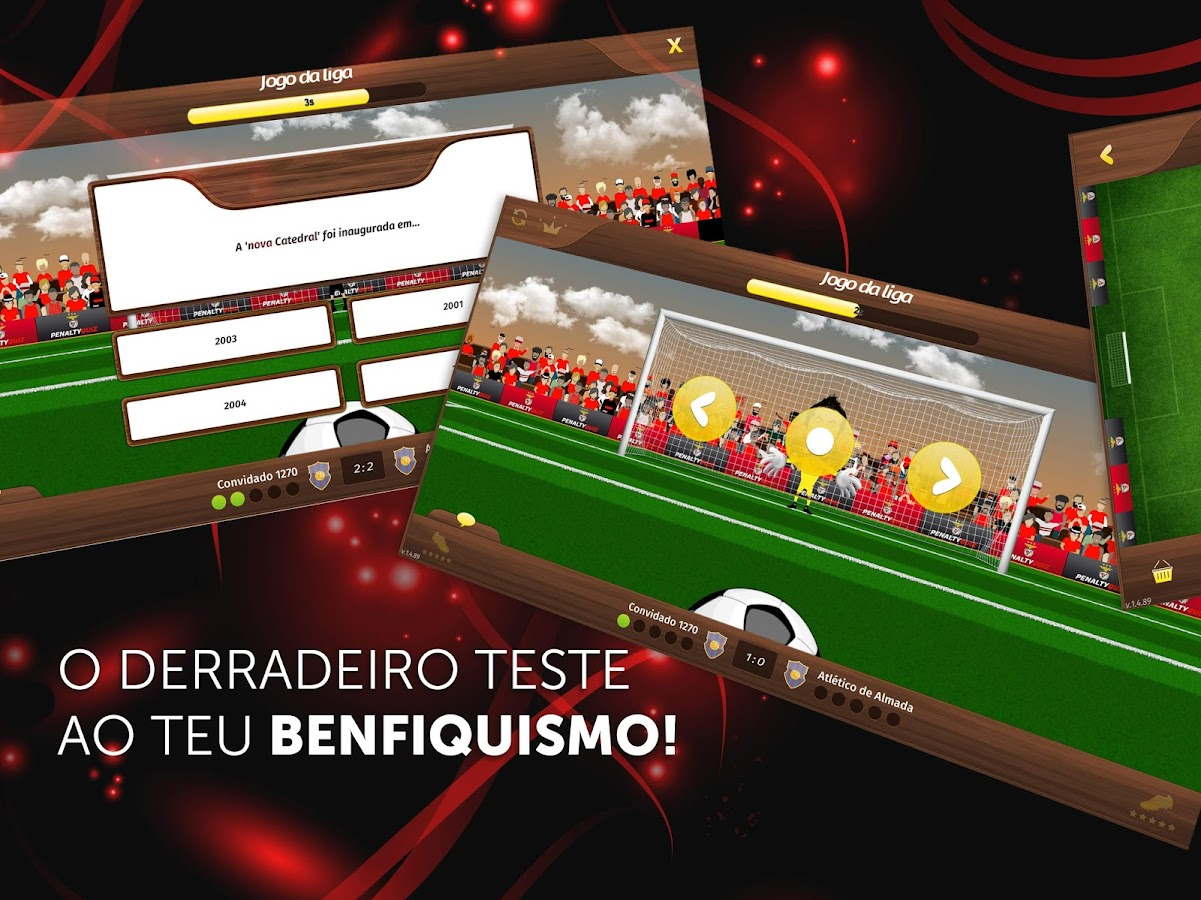 Penalty Quiz SL Benfica- screenshot