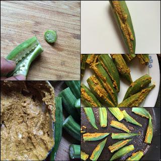 Bharwaa Bhindi, Tawa Fry