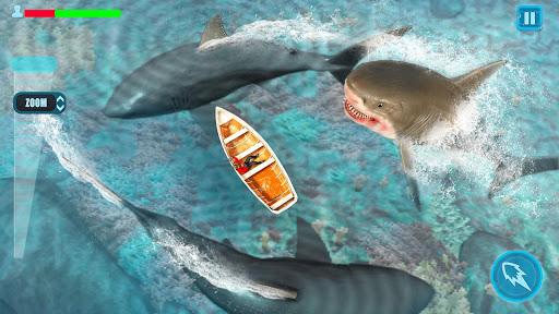 Survivor Sharks Game: Shooting Hunter Action Games android2mod screenshots 5