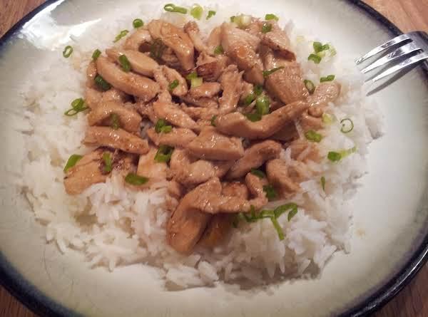 Shari's Chicken Stir Fry
