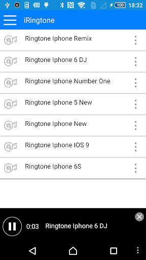 iRingtones OS 9 for Android