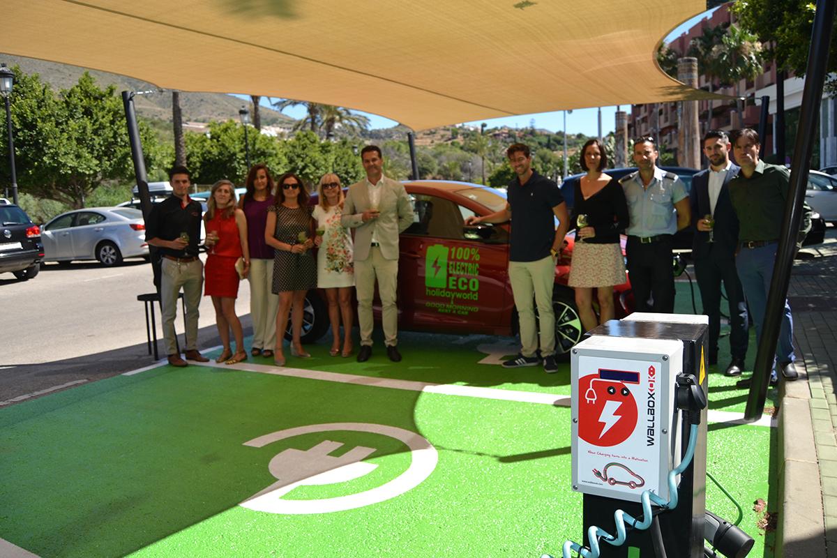 Alquiler de coches eléctricos en hoteles