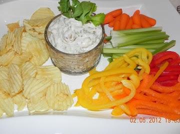 Vegan French Onion Dip Recipe