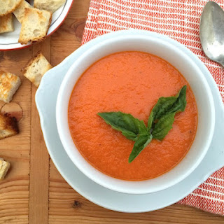 Creamy Tomato Soup (without a drop of cream)