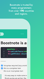Boostnote - note taking app for programmers -- screenshot thumbnail