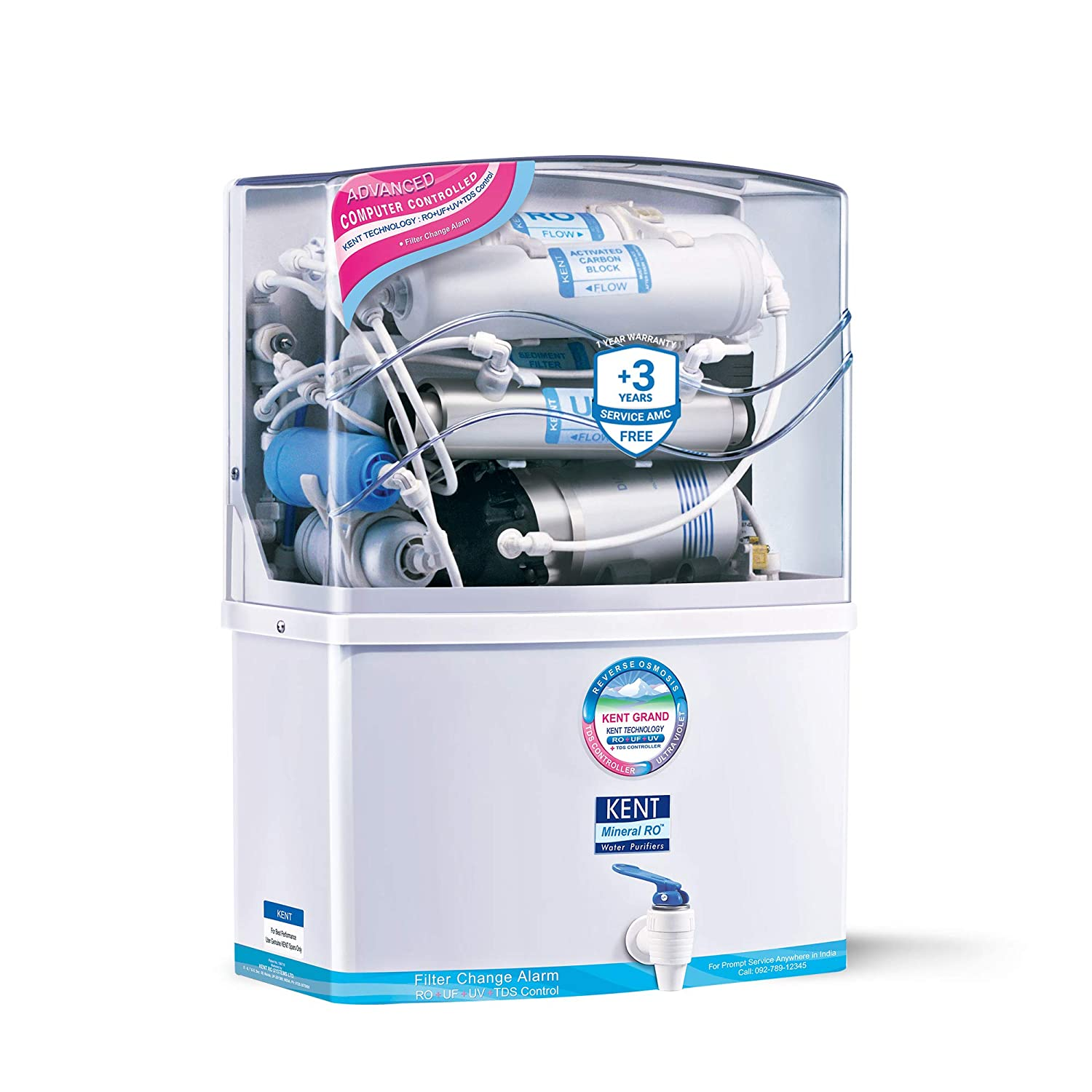 KENT Grand RO + UV/UF + TDS Over All Best Water Purifier