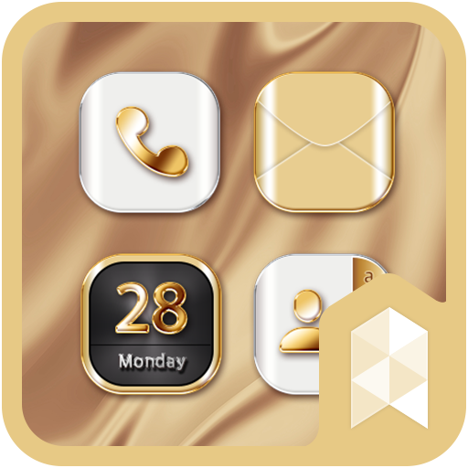 HD Gold Wallpaper theme (app)