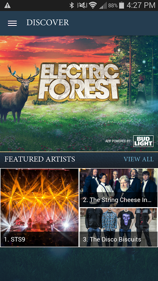 Electric Forest Festival- screenshot