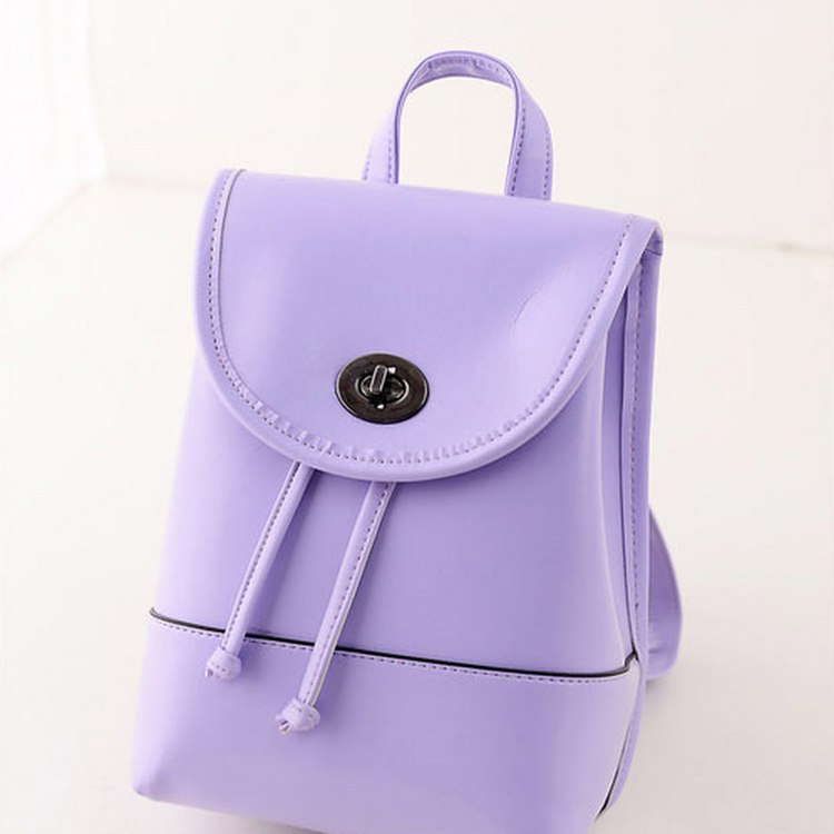 Candy Wonder Backpack Bag/Casual Outfit-TL0022-VIOLET by DOUBLE LH SUPPLY
