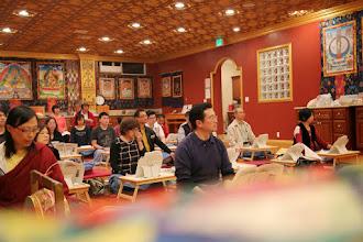 Photo: 南加中心頭香法會五色祥雲光明 (2/19/15)