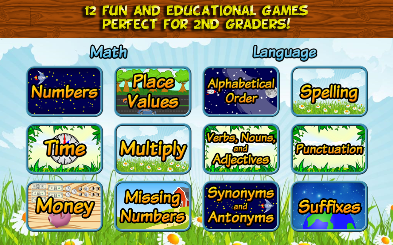 Worksheet Free Second Grade Reading Games second grade learning free android apps on google play screenshot