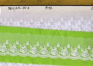 Photo: №740211-002チュールレース白:巾60㎜ (№820211-302オフ有り)
