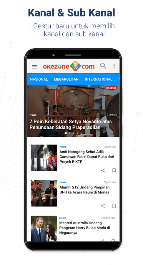 Okezone official android apps on google play okezone official screenshot stopboris Images