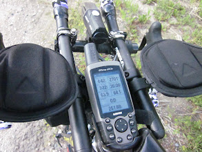 Photo: My Garming setting is metric. Current elevation is 2701m on 251.88km point.