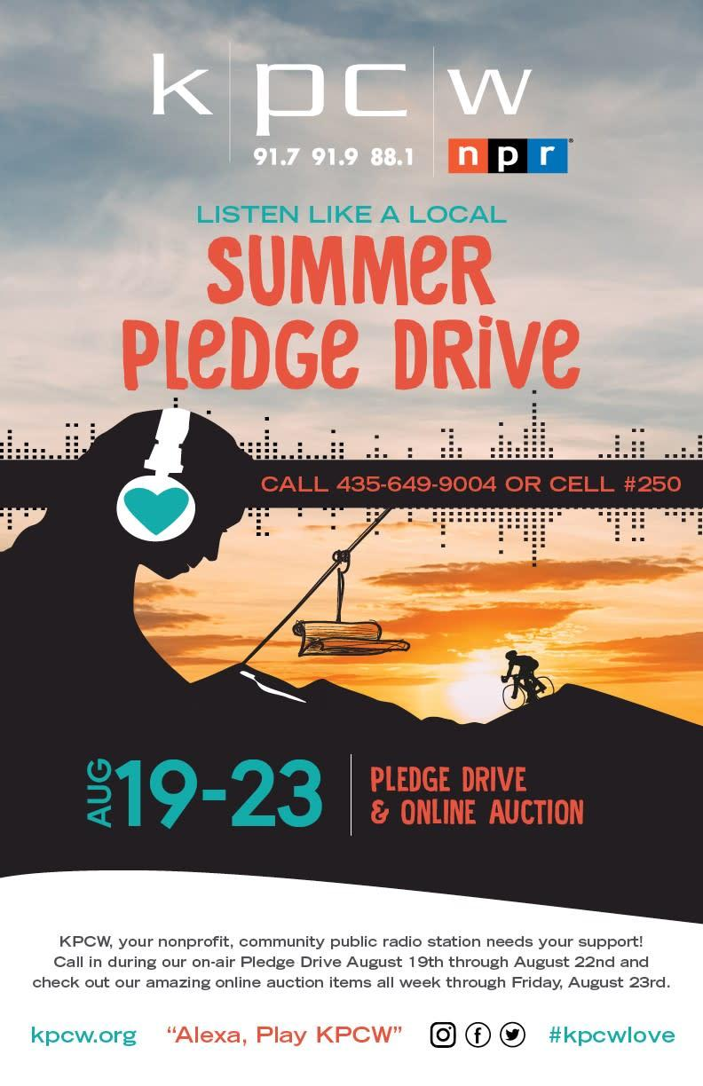 Image result for KPCW Summer Pledge Drive and Online Auction