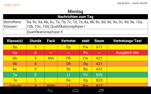 DSBmobile  screenshots 12
