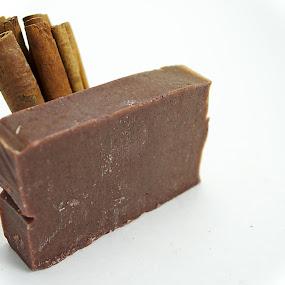 Cinnascrubby by Benjamin Howen III - Products & Objects Healthcare Objects ( cinnamon, soap )