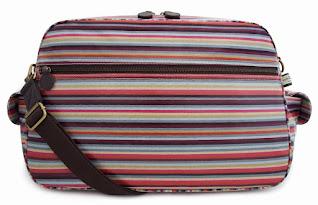 Stripe Baby Changing Bag