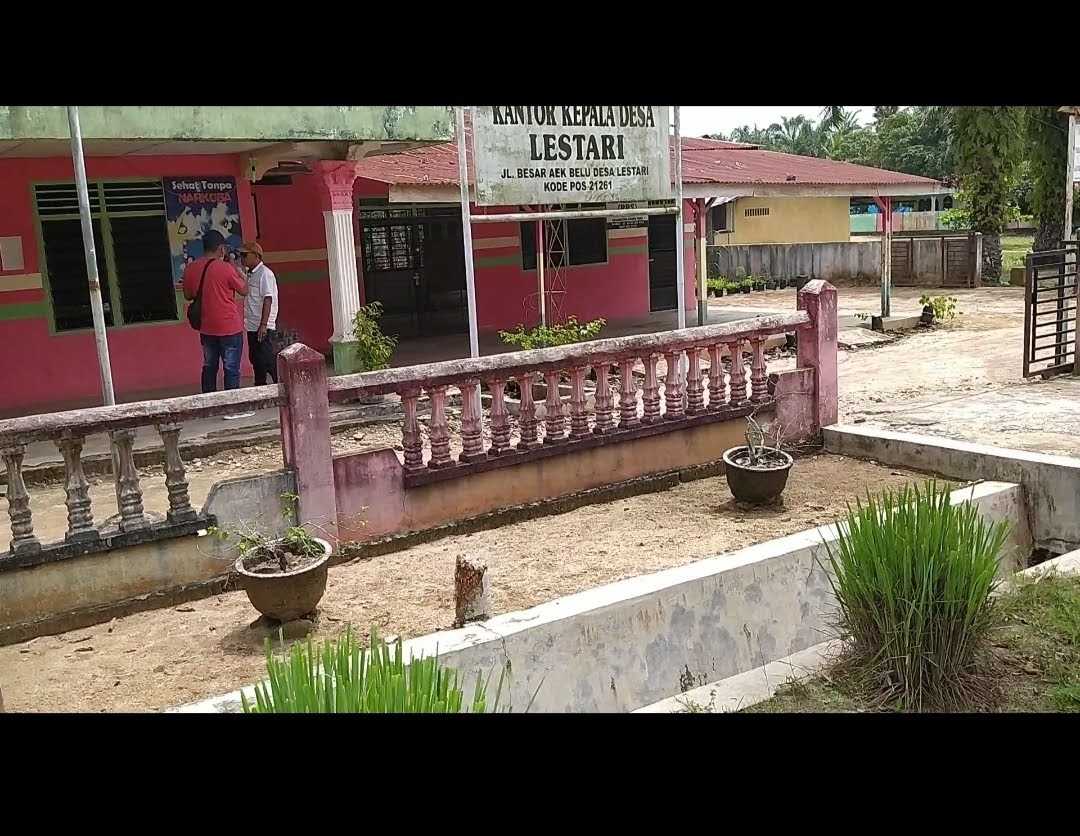 Kantor Desa Lestari 'Kosong', Kades Mengaku Dipanggil Inspektorat