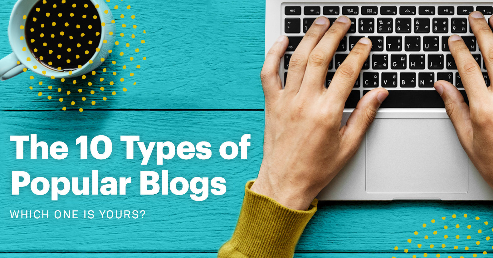 10 popular types of blogs