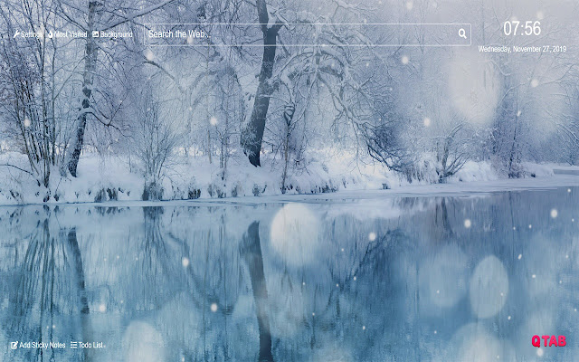 Winter Snow Wallpapers HD New Tab