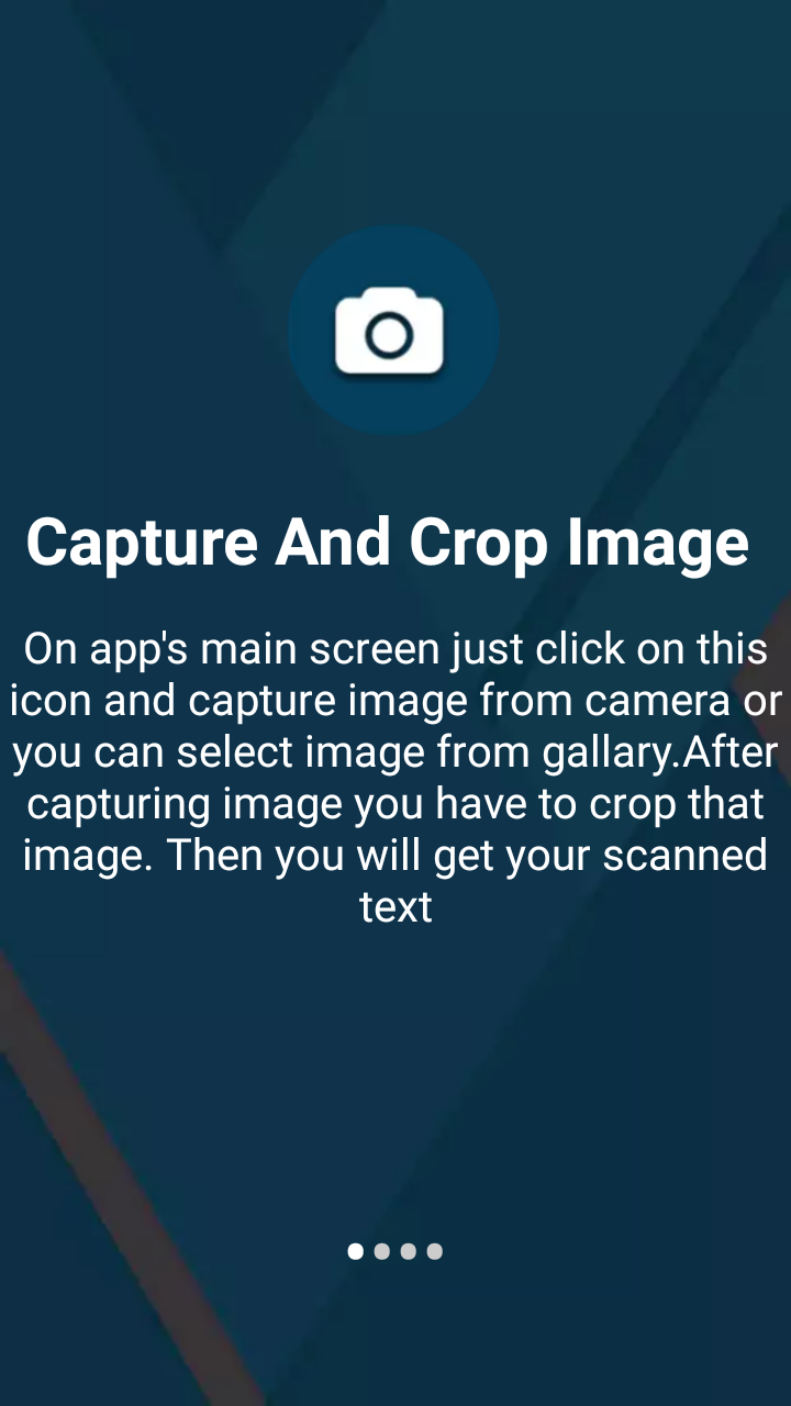 Скриншот OCR Text Scanner