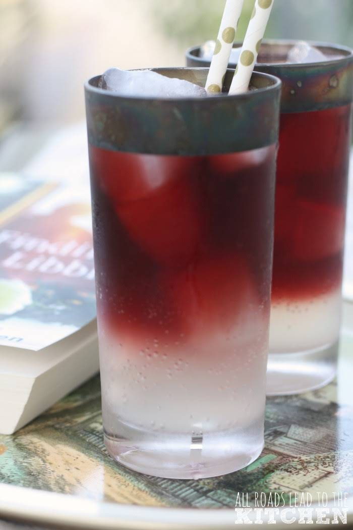 how to make a red wine spritzer with sprite