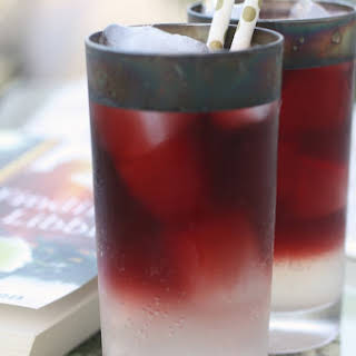 Red Wine Spritzers.