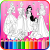 Coloring Book Princess