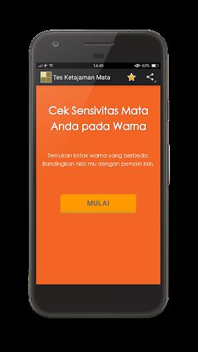 Tes Ketajaman Mata - Tes Buta Warna 1.0 screenshots 7