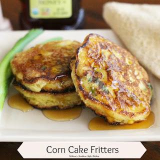 Corn Cake Fritters Recipe