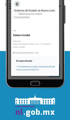 Gobierno de Nuevo León screenshot 5