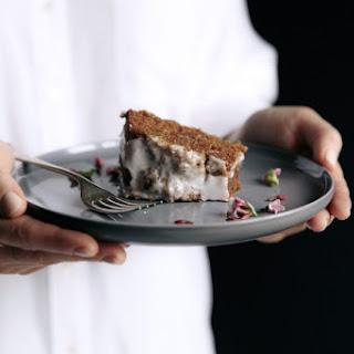 Citrus, Vanilla & Olive Oil Spelt Cake with Rose