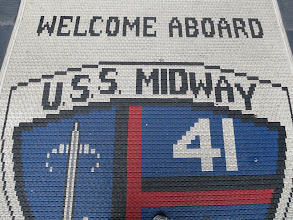 Photo: Day 2 - Welcome aboard the U.S.S. Midway!