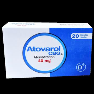 Atovarol 40mg CBG Caja x