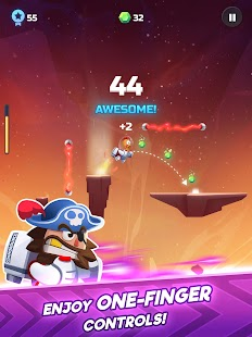 Cosmo Bounce - The craziest space rush ever! Screenshot
