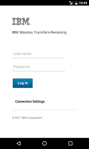 IBM Maximo Transfers-Receiving for PC