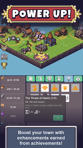 Cave Heroes: Idle Dungeon Crawler Beta 1.5.4 screenshots 3