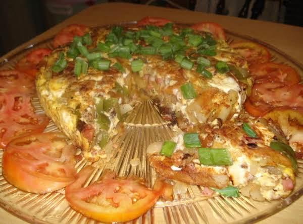 Spanish Omlet Tortilla Espanola Recipe