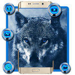 Ice Wolf Theme Icon